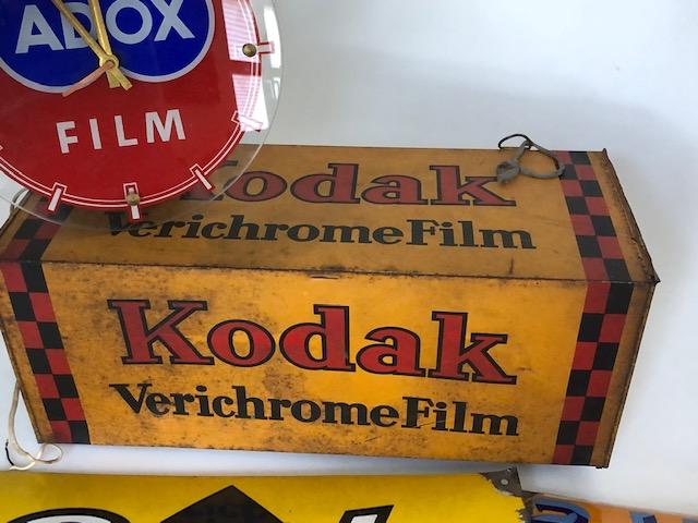Alte Werbeschilder Kodak